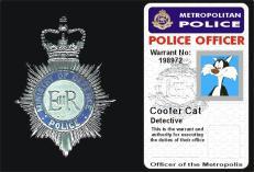 Warrant Card Coofer Cat S Weblog